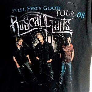 Rascal Flatts 2008 band tee